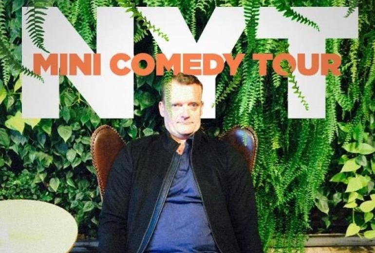 """""""NYT"""" Mini Comedy Tur  - Frank Hvam og et par gode kollegaer"""